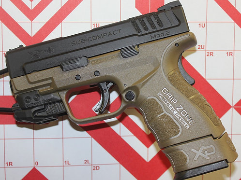 Springfield  XD  Subcompact  9MM  w/ 4 Mags