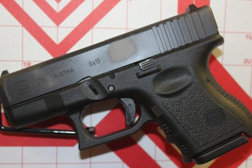 Glock  G26  GEN3  9mm  subcomp
