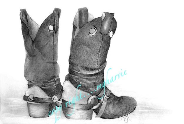 Cowboy up boots
