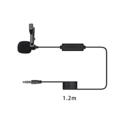 MICROFONE LAPELA P3 PARA SMARTPHONE COMICA V01-SP
