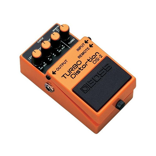 PEDAL GUITARRA BOSS TURBO DISTORTION DS