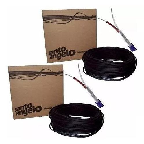 CABO MICROFONE SANTO ANGELO X30 (ROLO 100 METROS)