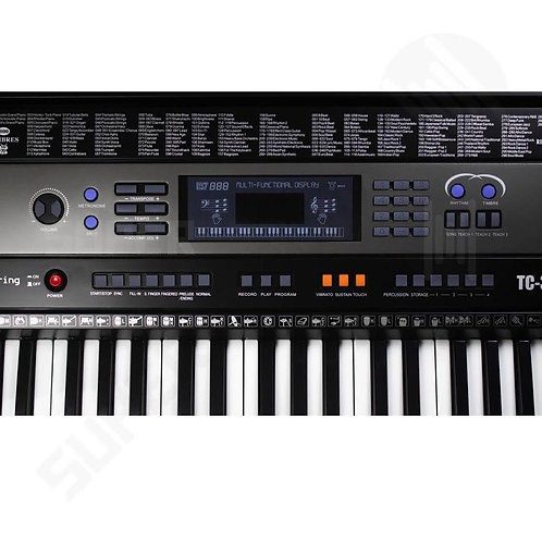 TECLADO MUSICAL SPRING  TC 361 61 TECLAS SENSITIVAS