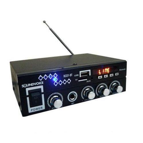 AMPLIFICADOR RC01-BT SOUNDVOICE - SMART