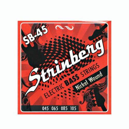 ENCORDOAMENTO STRINBERG 045 SB45 CONTRA BAIXO 4 CORDAS
