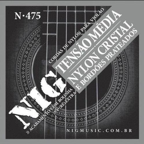 CORDA PARA VIOLÃO NYLON TENSÃO MEDIA N-475
