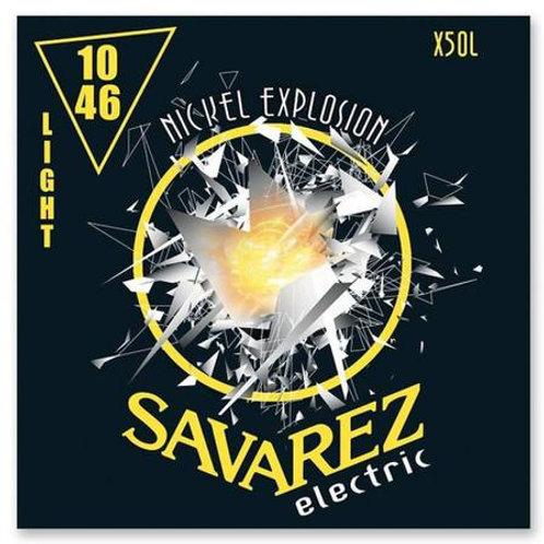 ENCORDOAMENTO SAVAREZ NICKEL  GUITARRA X50L - 010 LIGTH