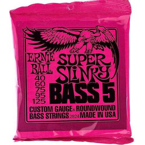 ENCORDOAMENTO BAIXO  ERNIE BALL 2824 .40 SUPER SLINKY5 CORDAS