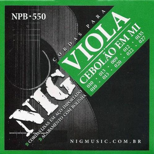 ENCORDOAMENTO VIOLA CAIPIRA CEBOLÃO BOLINHA NPB 550