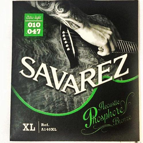 ENCORDOAMENTO VIOLÃO AÇO  SAVAREZ 010/047