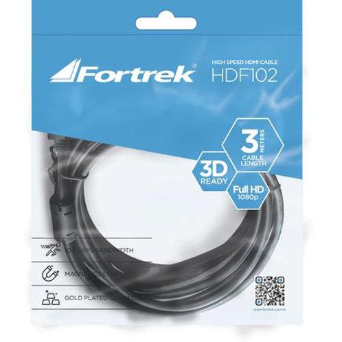 CABO HDMI COM FILTRO 1.4 3D 3 METROS HDF-102 PRETO FORTREK