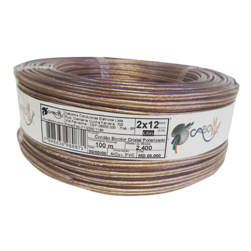 CABOMIX  BICOLOR 2 X 14 1,50MM AWG 100M