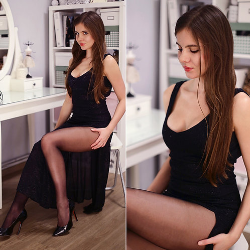 Sassy Long Length Dress