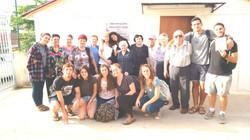 Winners in Kiryat Shmona and students of M.Baruch