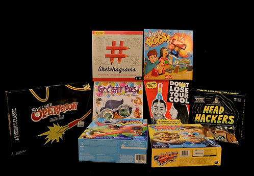 Case Lot of Toys & Games - Shelf Pull Condition