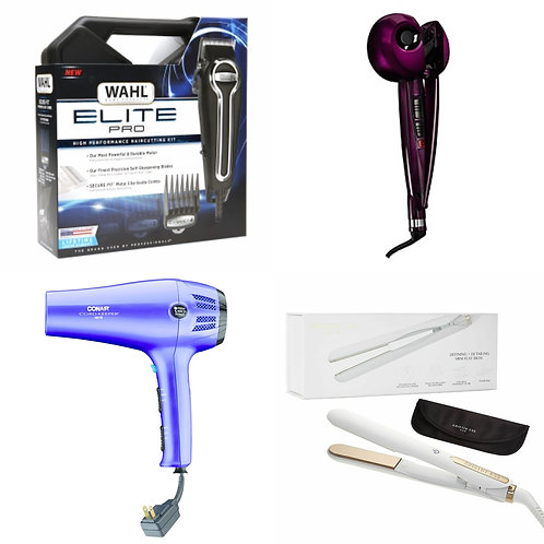 Personal Appliances Case Lot - Flat Irons, Curling Irons & More!