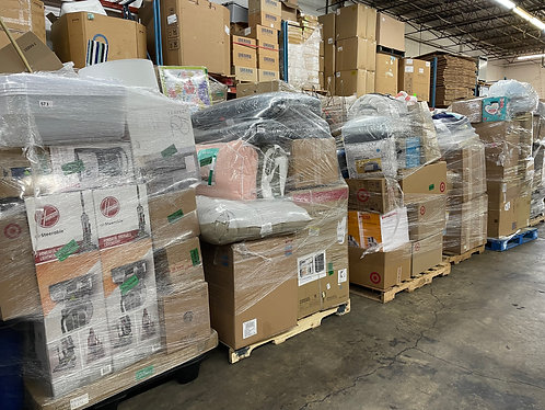 T@RGT General Merchandise Pallets - Unmanifested - Lots of Pallets to Pick From!