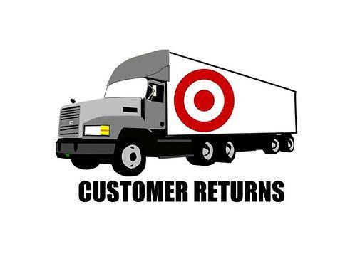 T@RGT General Merchandise Truckload - High Piece Count - Customer Returns