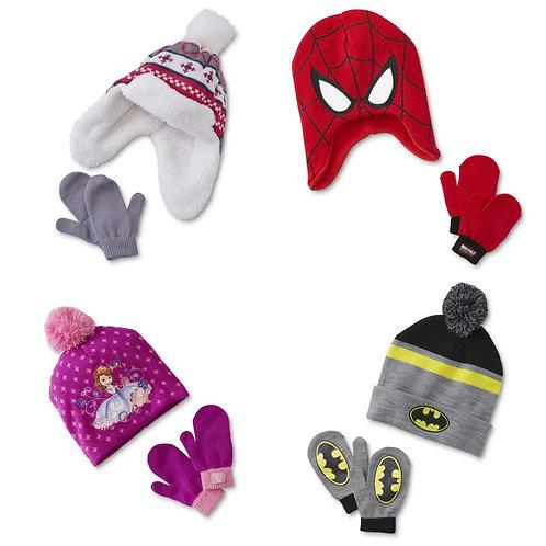 Case Lot of Kids Hat & Mitten Sets - 50 Units - New Shelf Pulls