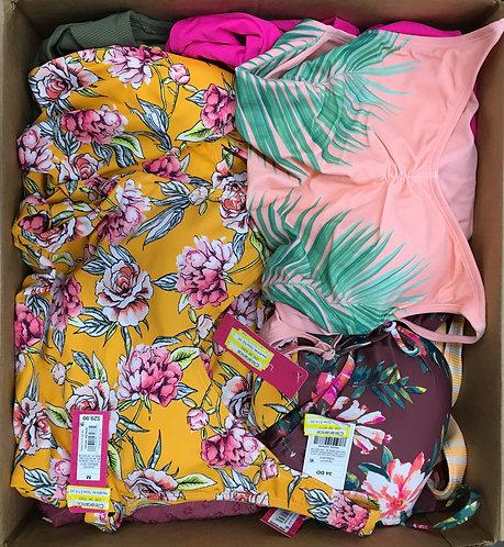 Case Lot of Women's Swimwear - 49 Units - Manifested - Shelf Pull Condition