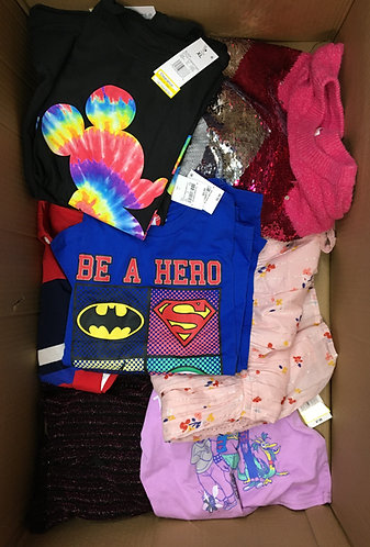 Case Lot of Kid's Clothing - 127 Units - Shelf Pull Condition - Manifested