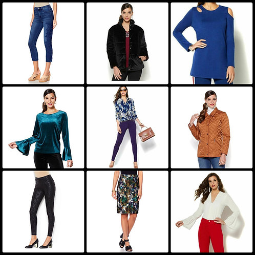 High Quality Brand Name Fashion Apparel - 33 Units - Manifested - Overstock