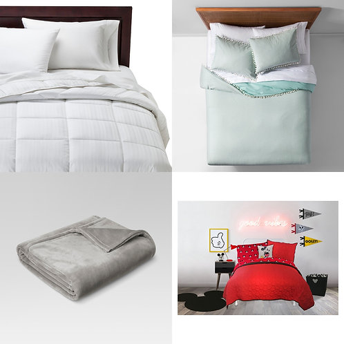 TGT Bedding Pallet - Manifested - $1,996 Original Retail