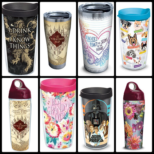 Case Lot of Insulated Drinkware by Tervis & More - 17 Units - Shelf Pulls