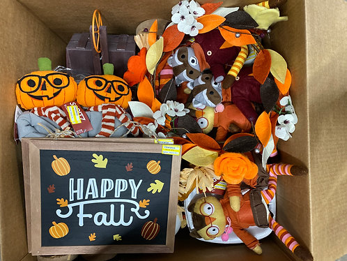 Thanksgiving/Fall Merchandise Case Lot - 126 Units - Shelf Pulls