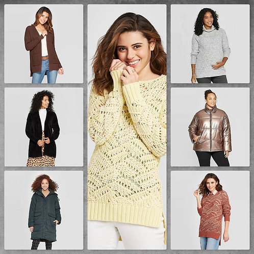 Case Lot of Women's Fall & Winter Apparel - 22 Units - Shelf Pulls