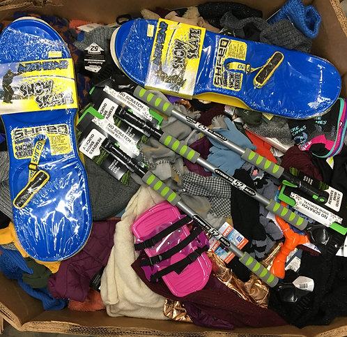 Pallet of Winter Merchandise - Coats, Shovels, Snow Toys & More - 274 Units
