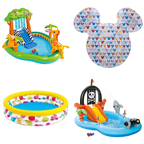 Summer Pools & Outdoor Toys Pallet - Manifested - 111 Units - $2,036 Retail
