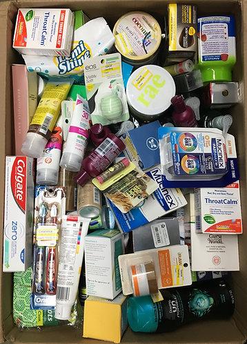 Case Lot of Health & Beauty Items - 101 Units - Manifested - Shelf Pulls