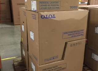 8 Pallets of New High-End Plumbing Fixtures
