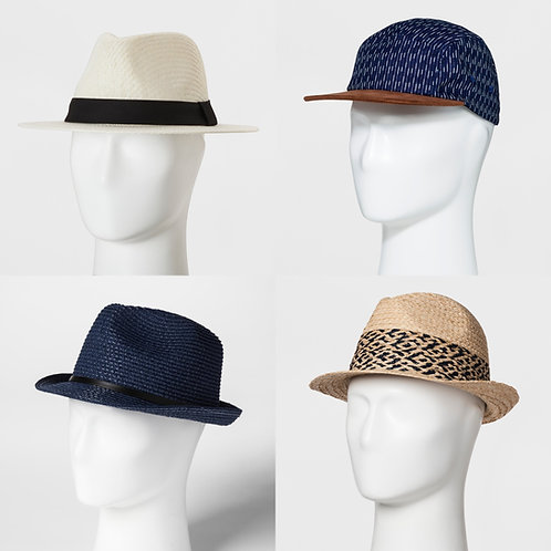 Case Lot: T*RGT Hats - Manifested - 78 Units - $1,155 Orig. Retail