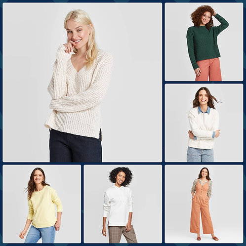 T@RGT Overstock Women's Apparel - 363 Units - Manifested