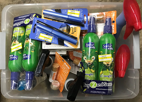Case Lot of Health & Beauty Items - 42 Units - Manifested - Shelf Pulls
