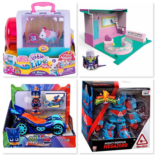 Case Pack General Merchandise Pallet - Includes Lots of Toys! - New Overstock