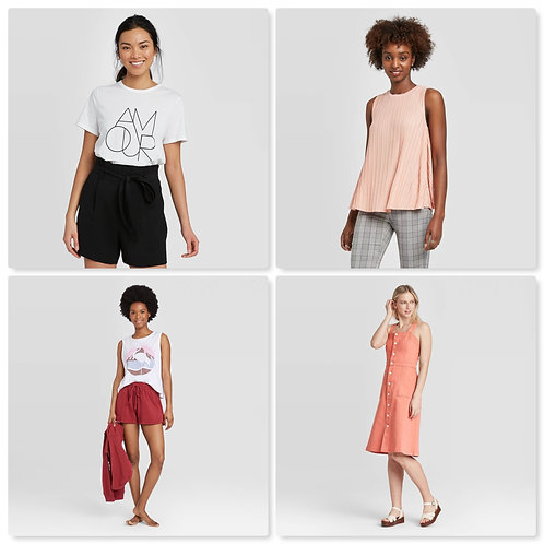 T@RGT Overstock Women's Apparel - 878 Units - Manifested