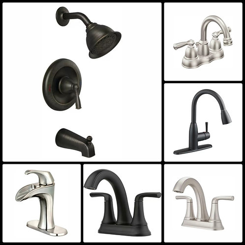 Case Lot of Faucets by Pfister, Moen & More - 10 Units - Manifested