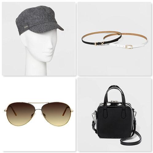 Case Lot of Accessories - Belts, Purses, Sunglasses & More! 61 Units Shelf Pulls