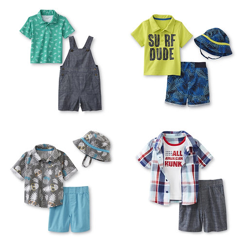Case Lot: Baby Clothing -  100 Units - New Shelf Pulls - Manifested