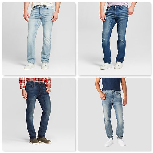 Case Lot of Men's Jeans & Pants - Manifested - Shelf Pull Condition