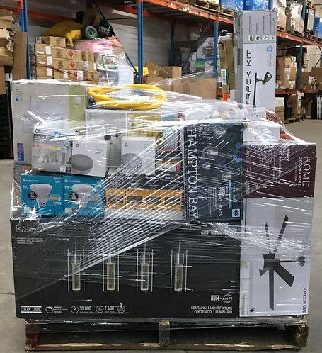 H@ME DEP@T General Merchandise Pallet - 47 Units - Manifested