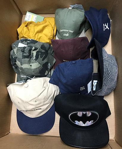 Case Lot of Assorted Hats for Men & Women - 32 Units - Shelf Pulls