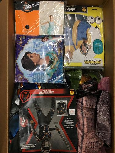Case Lot of Halloween Costumes - 37 Units -Manifested -Shelf Pulls