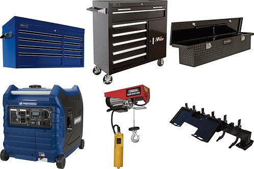 Tool & Equipment Truckload - $70,619 Retail Value