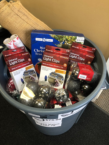 Case Lot of Christmas Merchandise - Shelf Pull Condition