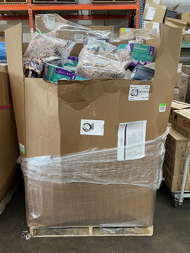 T@RGT Overstock General Merchandise Pallet - 618 Units - $11,660 Orig. Retail