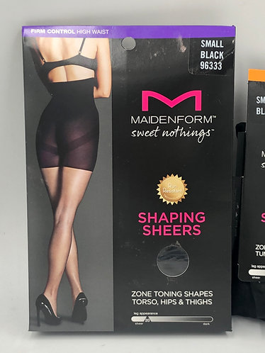 Maidenform Shaping Sheers & Tights - New Overstock Condition - Case Packed